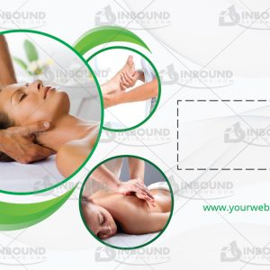 Massage Business Card Template 5