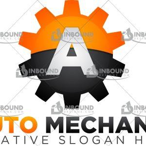 Premium Auto Mechanic Logo 1