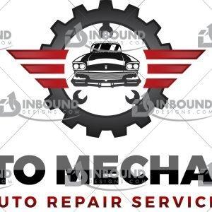 Premium Auto Mechanic Logo 4